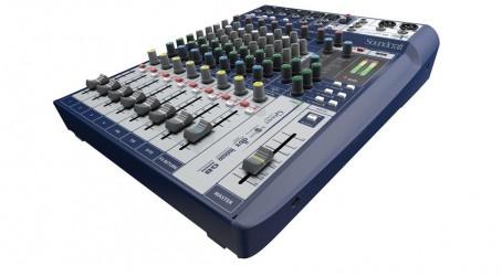 Console de Mixage Analogique Soundcraft Signature10