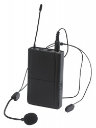 Emetteur + micro serre-tête pour CR12A-COMBO CR12 HEADSET