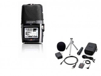 Enregistreur portable Zoom H2 BUNDLE