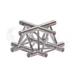 Global Truss Structure série F33 - Angle F33C41 Croix 4D 50cm