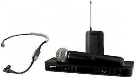 Micro double sans fil Shure BLX1288 SM35