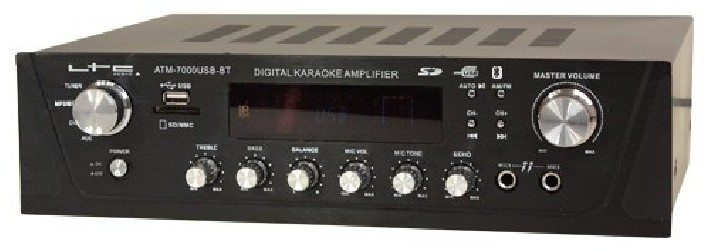 Amplificateur Karaoke LTC ATM7000USB BT