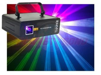 Laser multicouleur Ibiza 500mw SCAN500RGB