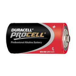 PILE 1.5 VOLTS LR14 BABY C   Duracell Procell