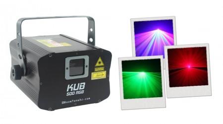 Laser Multicolore BoomTone DJ KUB 500 RGB