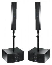 Système de Sonorisation Amplifié FBT VERTUS 2200