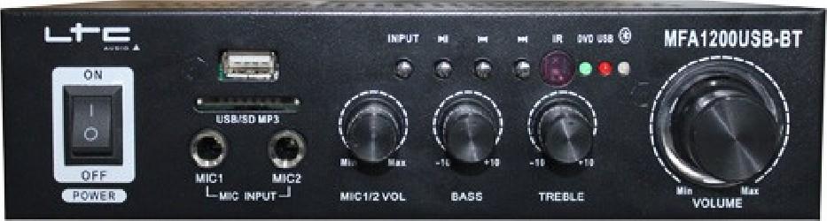 Amplificateur Karaoke LTC MFA1200USB BT