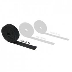 Rouleau Velcro Double Face mâle/femelle 30 mm