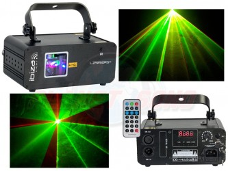 Laser multicouleur Ibiza 250mw LZR250RGY