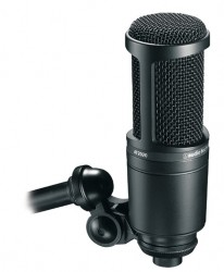 Micro Studio Audio Technica AT 2020