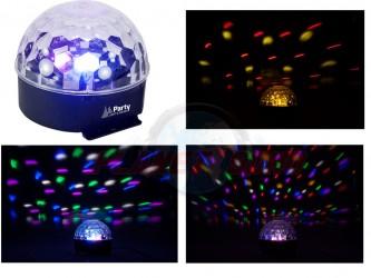 Jeux de lumière à leds PARTY ASTRO6
