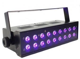 Lumière noire Boomtone DJ UV LED 18x3