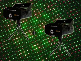 """Laser multipoint PIMP Mini Laser """"Pack de 2"""""""