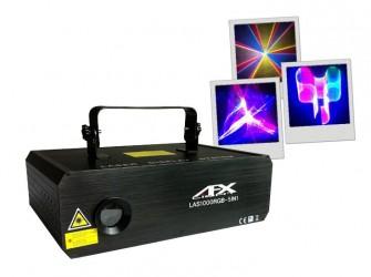 Laser Afx RGB 5EN1 AVEC ILDA et DMX 1W 3D LAS1000rgb