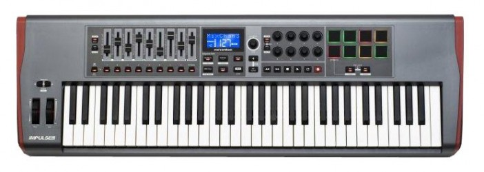 Clavier Maître Novation IMPULSE 61