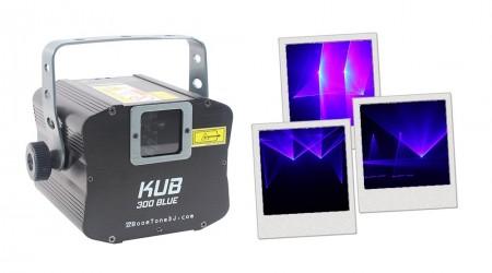 Laser Bleu BoomTone DJ KUB 300 Blue