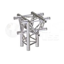Global Truss Structure série F33 - Angle F33C53 Croix 5D 50cm