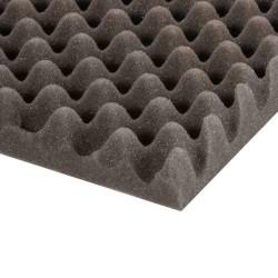 Mousse Alvéolée grise 30 mm
