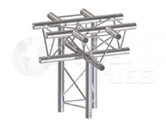 Global Truss Structure série F23 - Angle F23C53 Croix 5D 50cm
