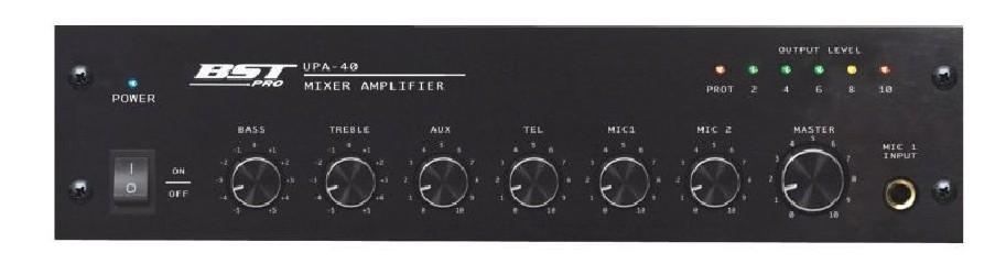 Amplificateur Mixeur Ligne 100v BST UPA40