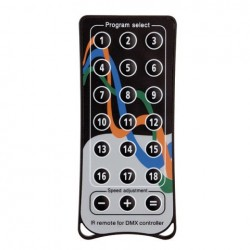 Telecommande sans Fil Showtec pour D512 PLUS Quick IR Remote