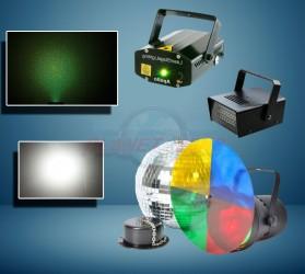 Pack lumière effet Disco 1