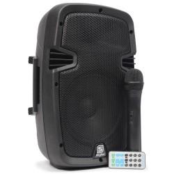 Sono portable sur batterie Skytec Pa908 avec un micro sans fil