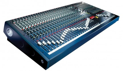 Table de Mixage orchestre PRO Soundcraft SPIRIT LX7 II 24