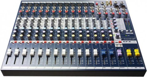 Table de Mixage orchestre Soundcraft EFX12