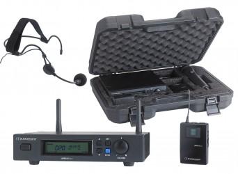Micro sans fil serre tête avec malette Audiophony UHF410 HEAD