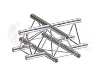 Global Truss Structure série F23 - Angle F23C41 Croix 4D 50cm