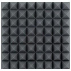 Mousse acoustique noire épaisseur 10 cm ASM03