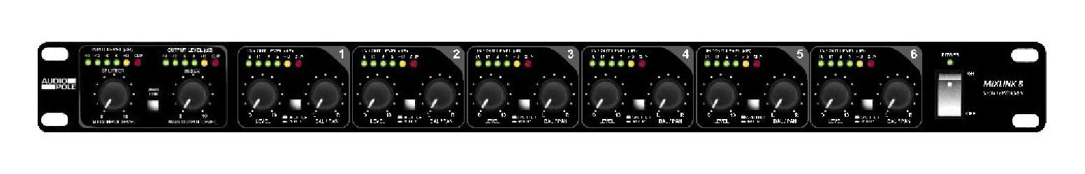 Mixer splitter Audiopole MixLink 8