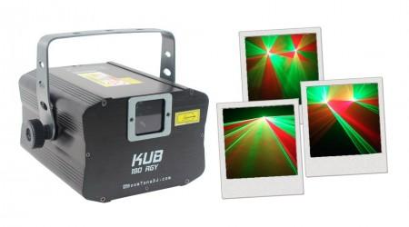 Laser Bicolore BoomTone DJ KUB 190 RGY
