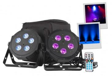 Pack de projecteurs à leds American DJ VPAR PAK
