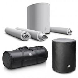 Système sur batterie LD systems  MAUI5 GO White BUNDLE