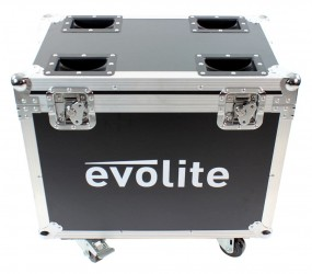 Flight case Evolite Moving Beam 2R
