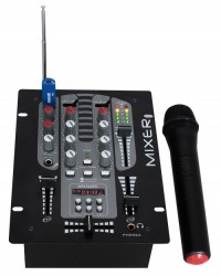 Table de mixage 2 voies Ibiza DJM150BT VHF