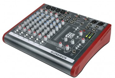Table de mixage Allen & Heath ZED 10