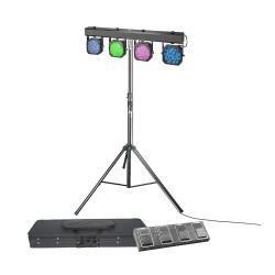 Pack Projecteurs à LED CAMEO CLMPAR1SET3