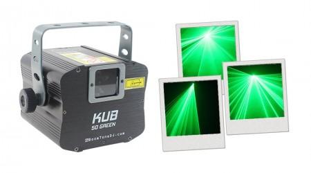 Laser Vert BoomToneDJ KUB 50 Green