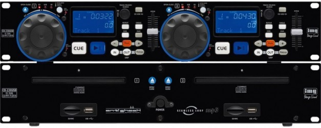 Platine CD MP3 Stage Line Cd230DJ