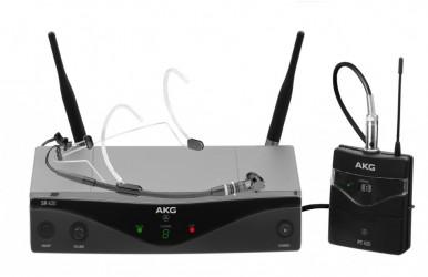 Micro sans fil serre tête AKG WMS420H