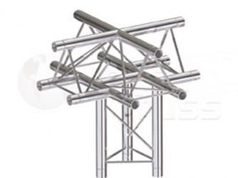 Global Truss Structure série F23 - Angle F23C52 Croix 5D 50cm