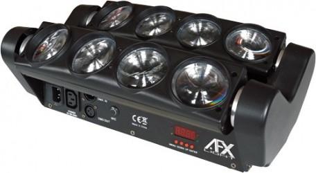 Jeux de lumière rampe à led motorisée AFX 8BEAM FX