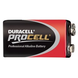 PILE 9 VOLTS Duracell Procell