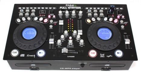 Platine Double Cd / Mp3 / USb / SD Ibiza FULLSTATION