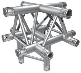 Global Truss - Série F33 - Angle F33C52 Croix 5D 50cm