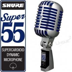 Micro chant shure SUPER55