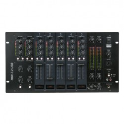 Table de mixage fixe 7 canaux 2 zones USB DAP Audio Imix7.2